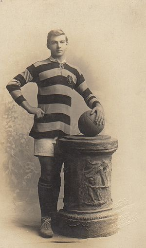 Reginald Boyne - Image: Reginald Boyne in his Everton uniform