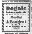 Reklama rogali (Dziennik Poznański 11.11.1938).jpg
