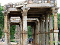 Remains near qutub minar 2.JPG