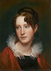 Rembrandt Peale: Portrait of Rosalba Peale