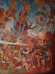 Rina lazo wikipedia la enciclopedia libre for El mural de bonampak