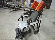 Restraint chair used for enteral feeding -b