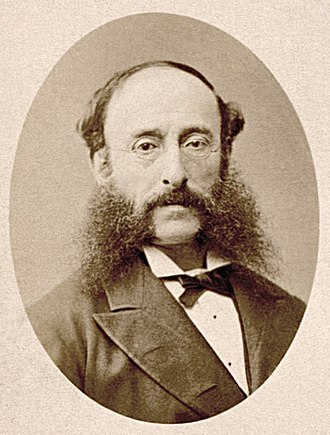 Reuters - Paul Reuter, the founder, by Nadar, c. 1865