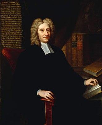 Samuel Clarke - Samuel Clarke, portrait attributed to Charles Jervas.
