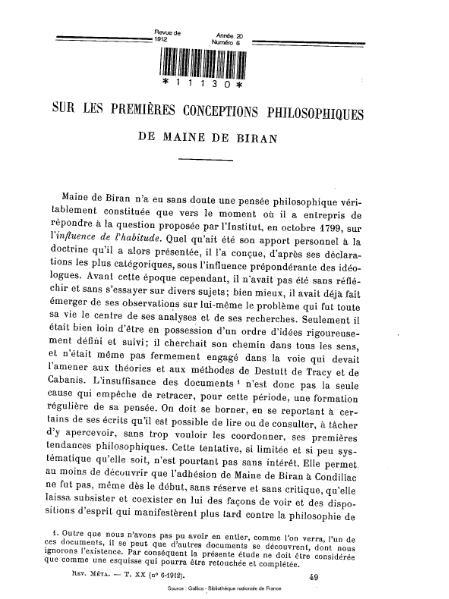 File:Revue de métaphysique et de morale, numéro 6, 1912.djvu