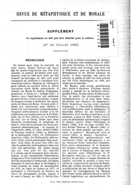 File:Revue de métaphysique et de morale, supplément 4, 1909.djvu