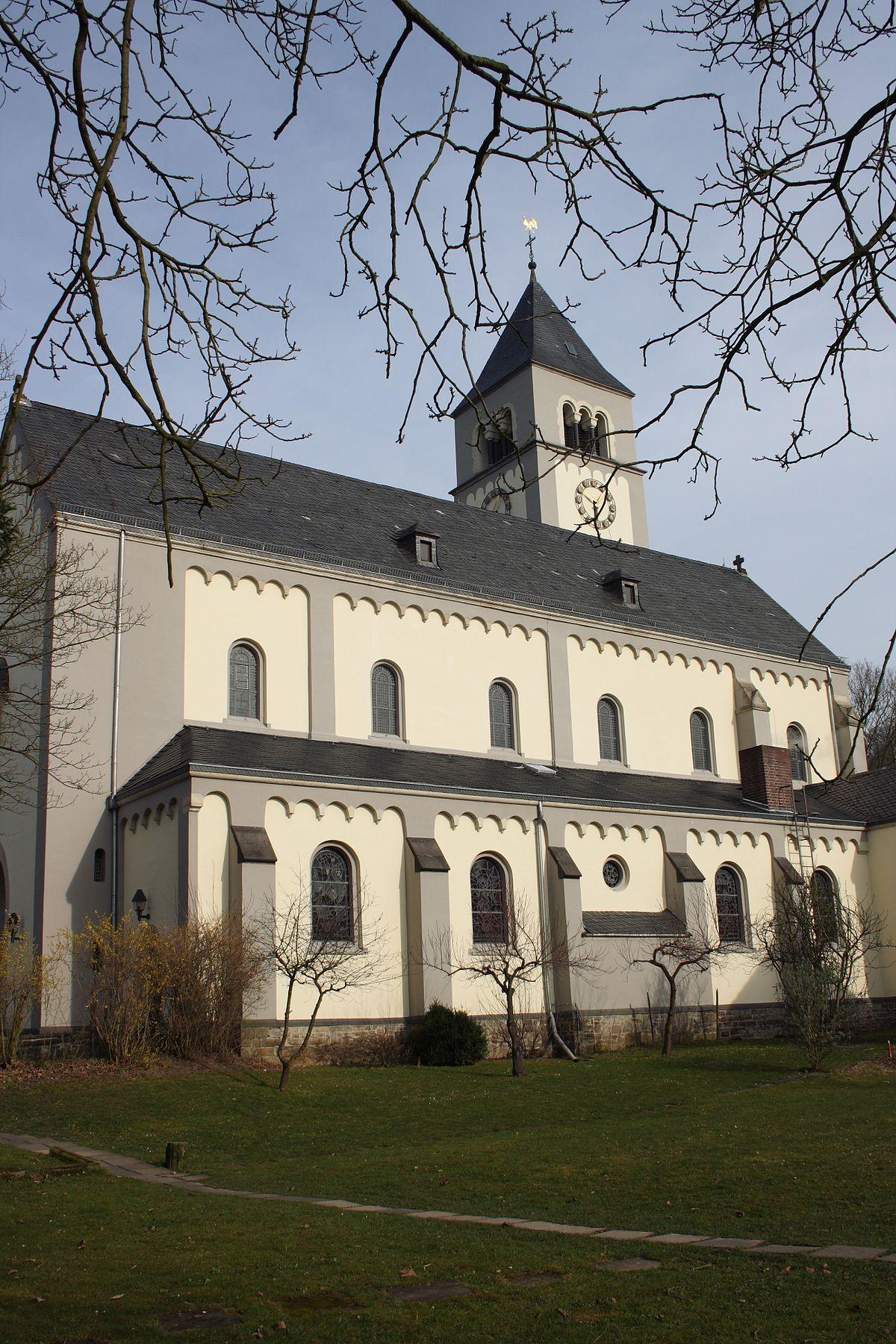 Architekt Bad Honnef st mariä heimsuchung rhöndorf
