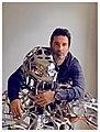 Richard Orlinski et Wild Kong.jpg