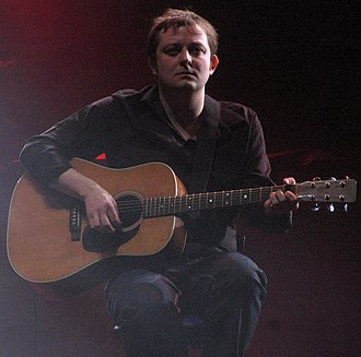 Richard Oakes (guitarist) - Richard Oakes on stage with Suede London 2010