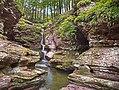 Rickettsglen parksgardens waterfallspennsylvania (17274830563).jpg