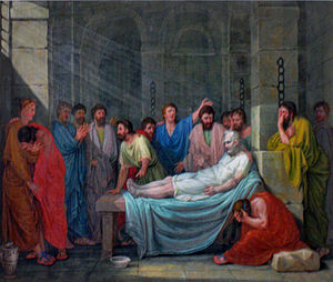Death of Socrates by Marco Capizucchi (1784-1844)