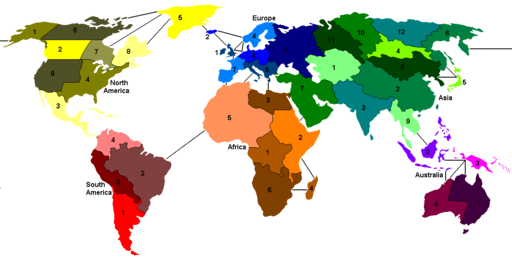 Risk game map fixed
