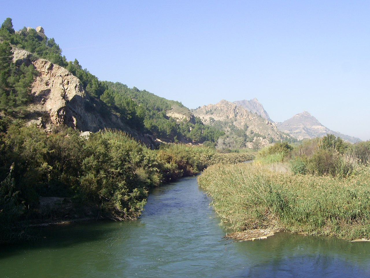 File River Segura Near Abaran Murcia Spain Panoramio Jpg