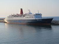 RoRo ferry Adriatica Queen - Bari Harbour, Italy - 15 Sept. 2011.jpg