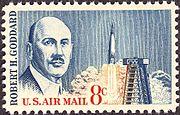 Robert H Goddard 1963 Issue-8c