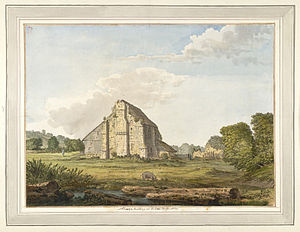 Robertsbridge - Image: Robertsbridge Abbey f.58 by Samuel Hieronymus Grimm 1783
