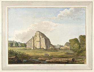 Robertsbridge - Image: Robertsbridge Abbey f.58 by Samuel Hieronymus Grimm 1783