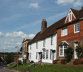 Robertsbridge village in East Sussex, England