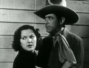 Johnny Mack Brown - With Lois January in 1936