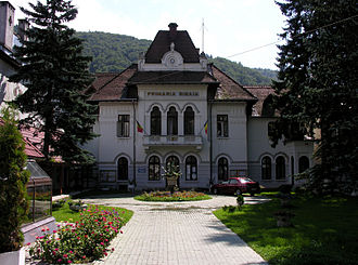 Sinaia - Image: Romania Sinaia city hall