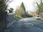Romseley - Dark Lane Junction with B4551 Bromsgrove Road - geograph.org.uk - 1191410.jpg