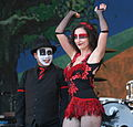 Ronnie Numbers & Trixie Minx The New Orleans Bingo! Show JazzFest 2011.jpg