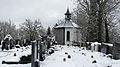 Ronsberg - Burgkapelle v S, Friedhof.JPG
