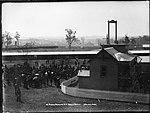 Rosehill Racecourse, N.S.W., Saddling Paddock (4903829284).jpg