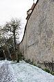 Rothenburg ob der Tauber, Stadtmauer, zwischen Würzburger Tor und Kummereck, Feldseite, 001.jpg
