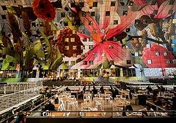 Rotterdam Markthal Interior Facade