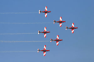 Roulettes - Image: Roulettes flying in formation