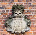 Royal monogram Frederik 4 Copenhagen Denmark.jpg