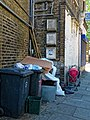 Rubbish and fly-tipping Tottenham High Road Haringey London England 1.jpg