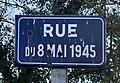 Rue du 8 mai 1945 (Belley), décembre 2019, panneau.jpg