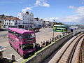 Ryde bus station during Isle of Wight Festival 2011.JPG
