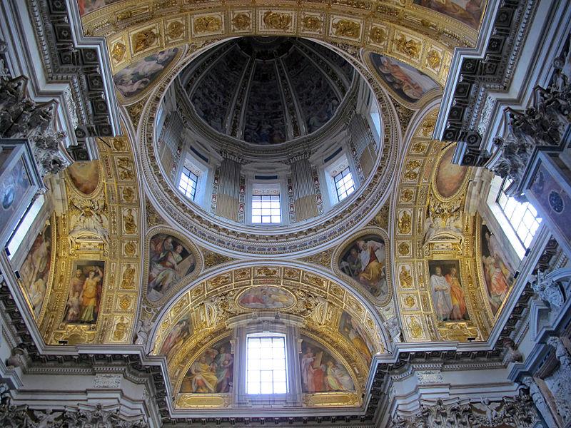 S.m. maggiore, cappella del ss. sacramento (sistina), del fontana (1584-7) con amrmi dal settizionio 03.JPG
