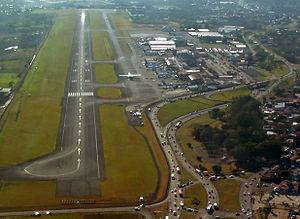Transport in Costa Rica - Juan Santamaría International Airport.