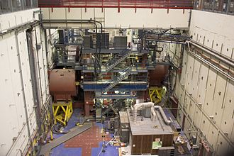 SLAC National Accelerator Laboratory - SLC pit and detector