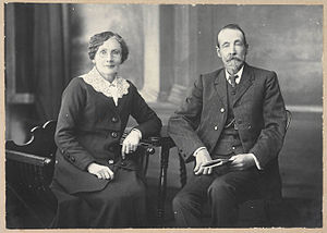 Miles Franklin - Franklin's parents Suzannah and John Franklin