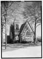 SOUTHWEST FRONT - Pendleton Presbyterian Church, Broad and South Mechanic Streets, Pendleton, Anderson County, SC HABS SC,4-PEND,2-1.tif