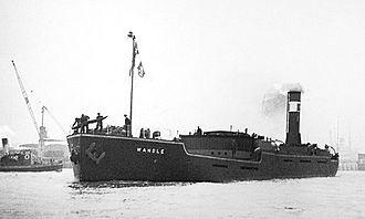 Flatiron (ship) - Image: SS 'Wandle' (1932) on her maiden voyage (cropped version)