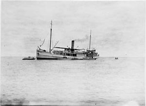 Gilbert and Ellice Islands - Image: SS TOKELAU Government Steamer Gilbert & Ellice Islands