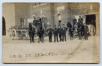 Fort Worth Fire Department - Horse-drawn fire apparatus of the Fort Worth Fire Department