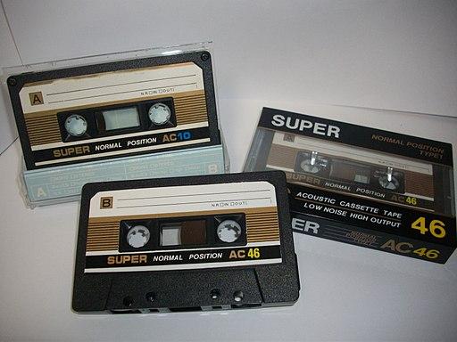 SUPER AC カセットテープ