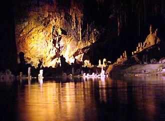 Saalfeld Fairy Grottoes - Image: Saalfelder Feengrotte (7)