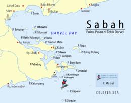 Sabah-Islands-DarvelBay PulauMabul-Pushpin.png