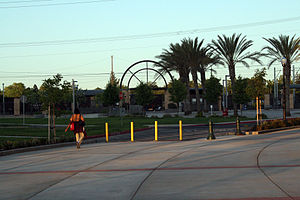 City College (Sacramento RT) - Image: Sacramento City College Light Rail Station