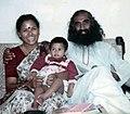 Sadhguru Jaggi Vasudev with wife Vijayakumari (08).jpg
