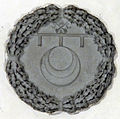 Sagrestia di santa felicita, stemma canigiani sulla volta.JPG