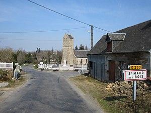 L'entrée du village.